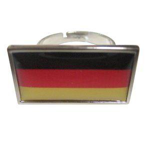 Germany Flag Fashion Ring